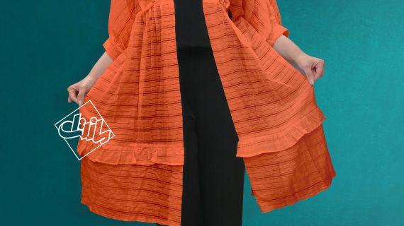 مانتو نخی لنین جلوباز زنانه – خرید آنلاین مانتو جدید